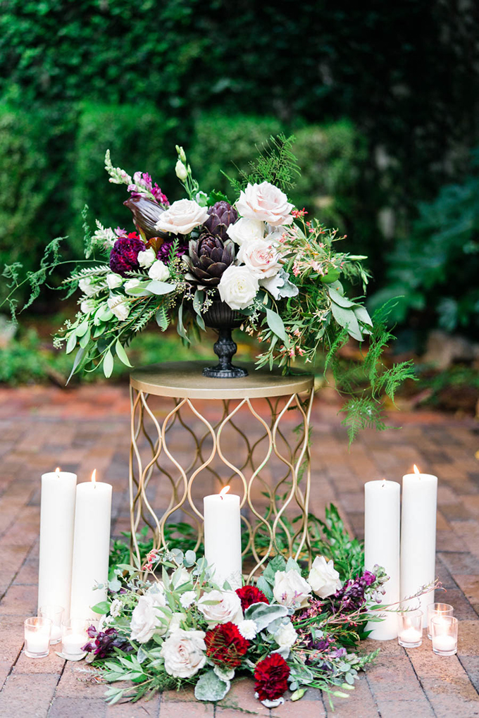 romantic geometric wedding inspiration | Treebird Photo | Glamour & Grace