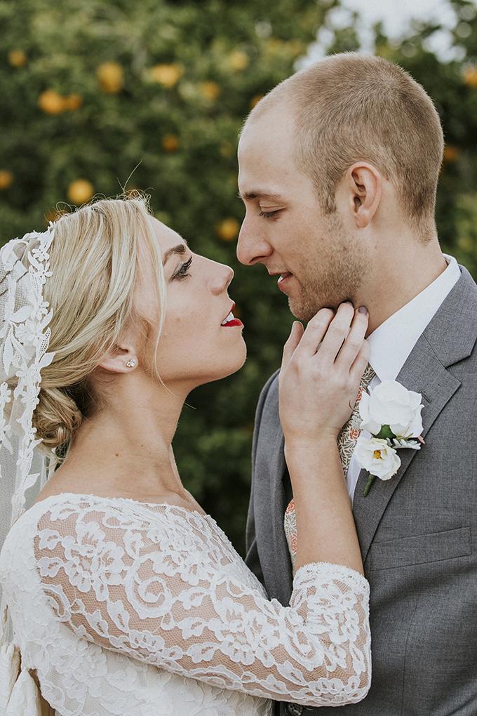 citrus wedding | Jenn & Pawel Photography | Glamour & Grace