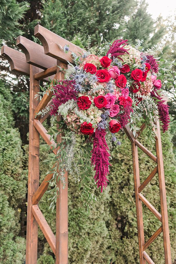 berry hued #fallwedding | Amy Allen Photography | Glamour & Grace