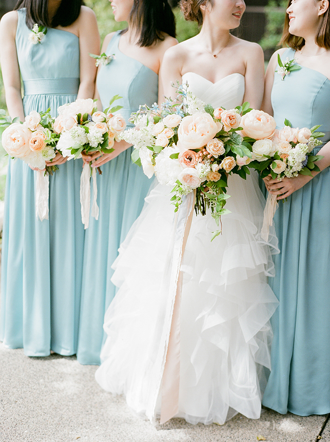 romantic pastel wedding | Stella Yang Photography | Glamour & Grace