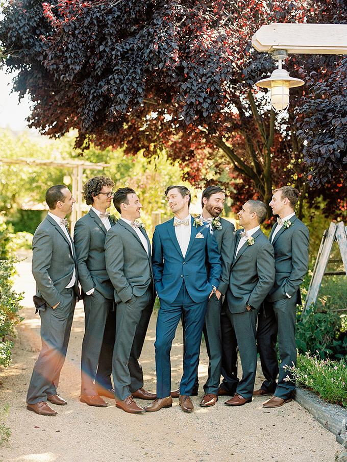 dapper #groomsmen | Sarah Maren Photography | Glamour & Grace