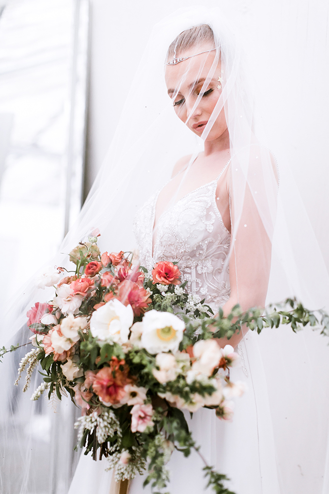 celestial wedding ideas | David's Bridal | Glamour & Grace