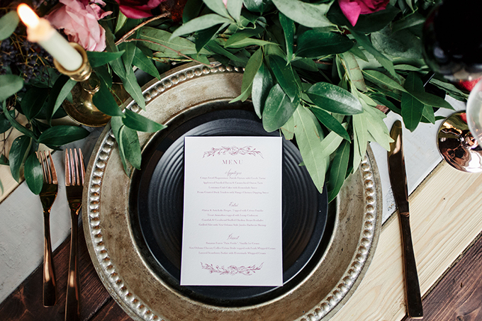 magenta fall wedding ideas | Molly and Co | Glamour & Grace