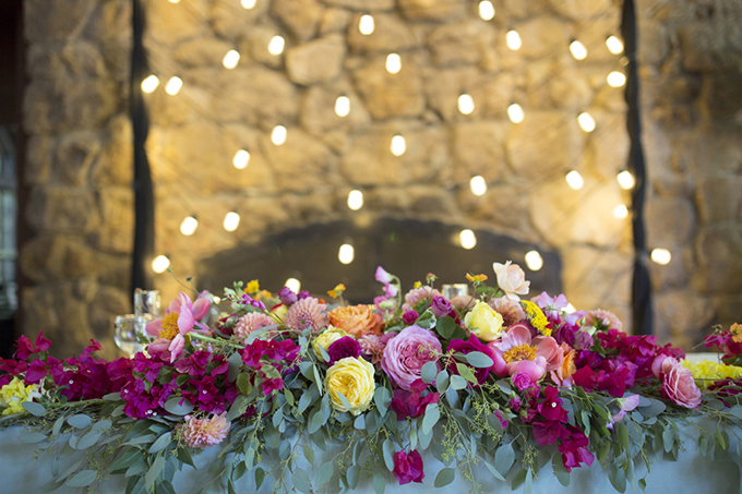 colorful California wedding | Christine Glebov Photography | Glamour & Grace
