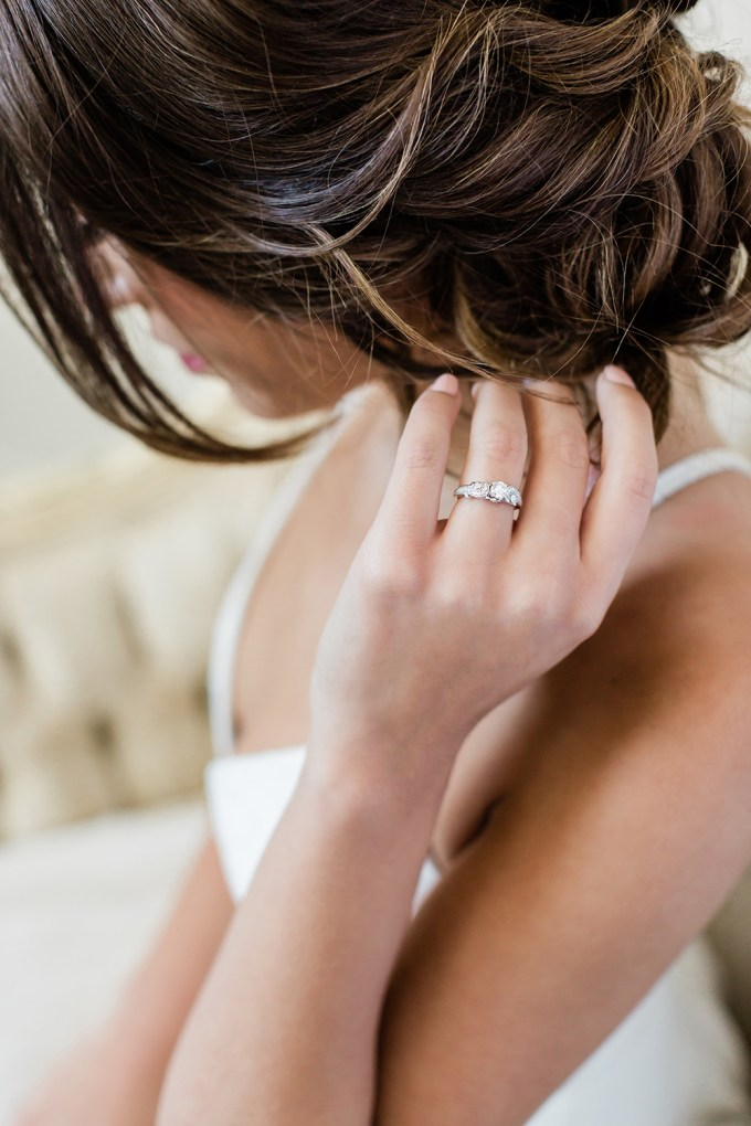 vintage style ethical diamond engagement ring from Clean Origin