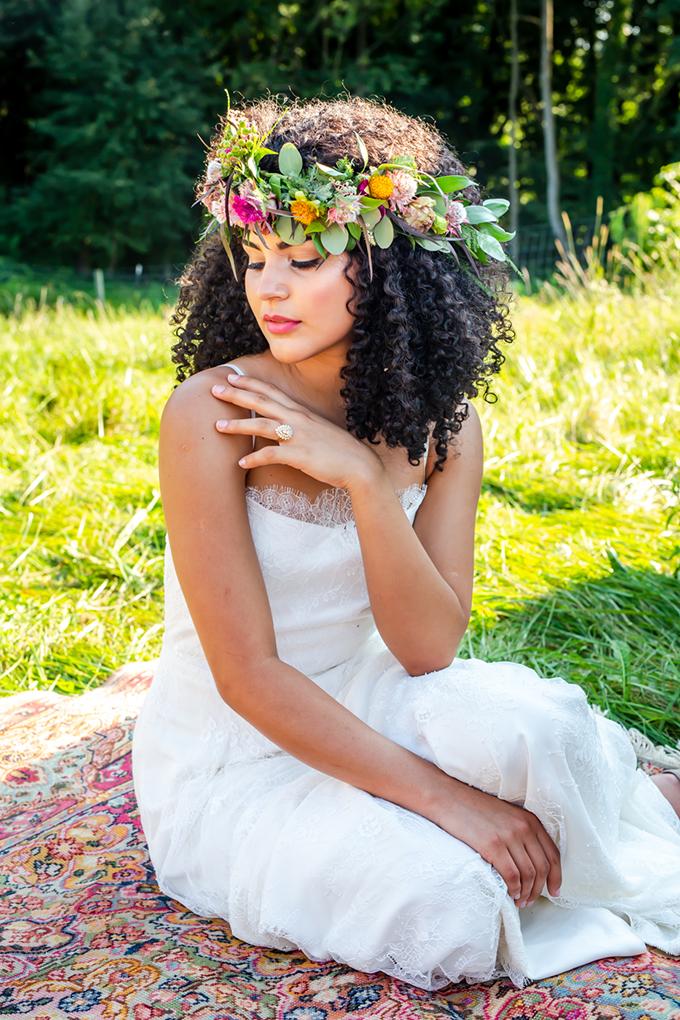 tropical boho wedding ideas | Hannah Cessna Photography | Glamour & Grace