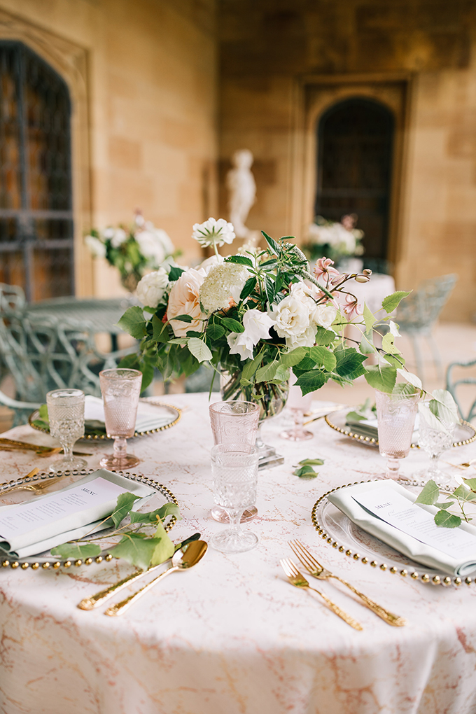 peach and sage estate garden wedding ideas | McNiel Photography | Glamour & Grace