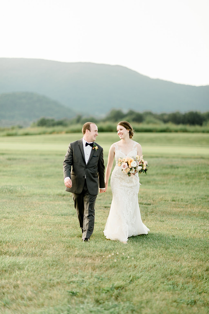 peach and teal mountain wedding | Wolfcrest Photography | Glamour & Grace