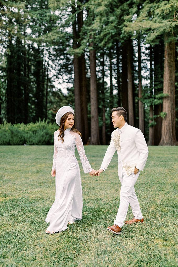 romantic blush redwoods wedding | Winnie Dora Photography | Glamour & Grace