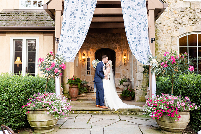 romantic backyard garden wedding | The Cannons Photography | Glamour & Grace