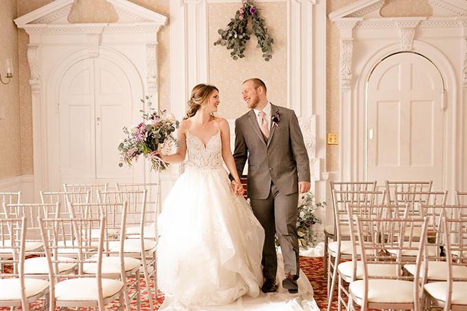 purple winter wedding ideas | Amanda MacPhee Studios | Glamour & Grace