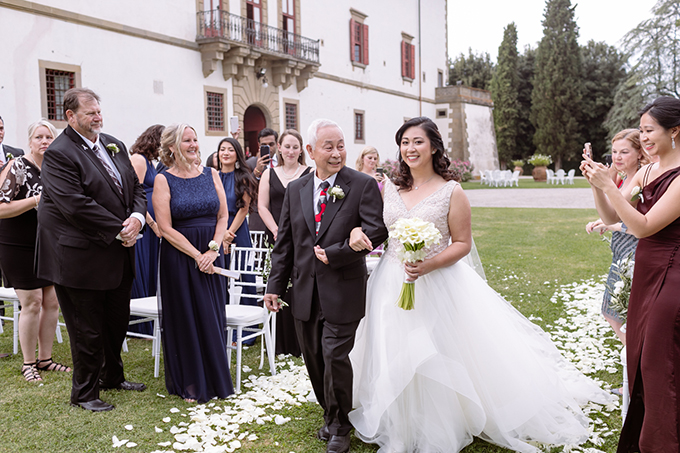 Tuscany destination wedding | Aberrazioni Cromatiche | Glamour & Grace
