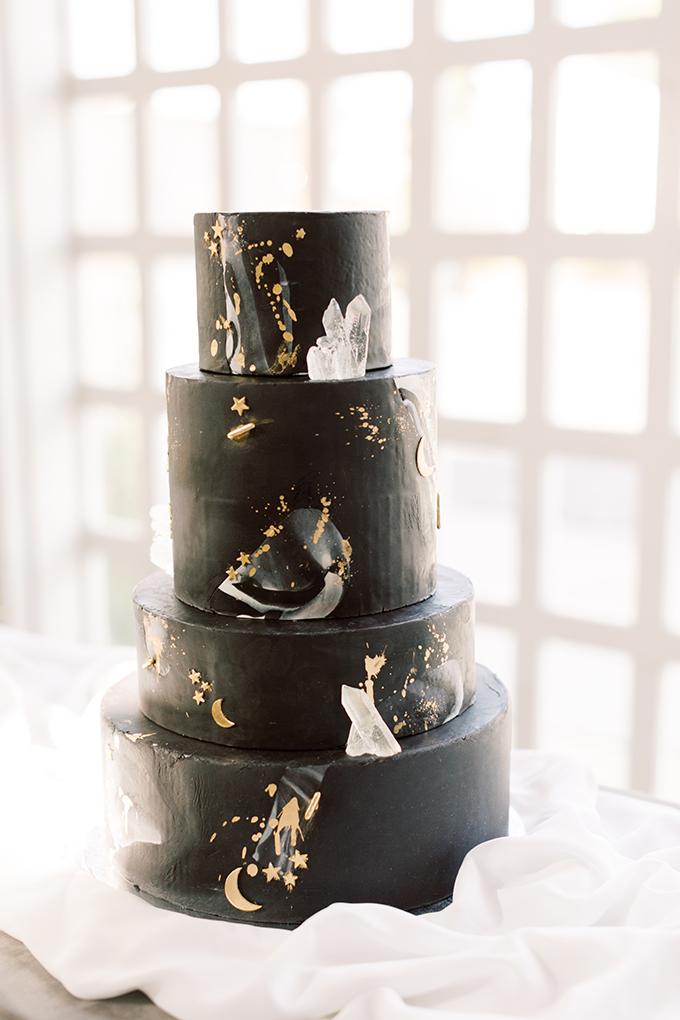 elegant celestial wedding ideas   Moose Studio   Glamour & Grace