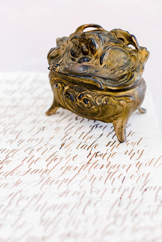 romantic Art Nouveau inspired wedding ideas | Olivia Hatfield Photography | Glamour & Grace