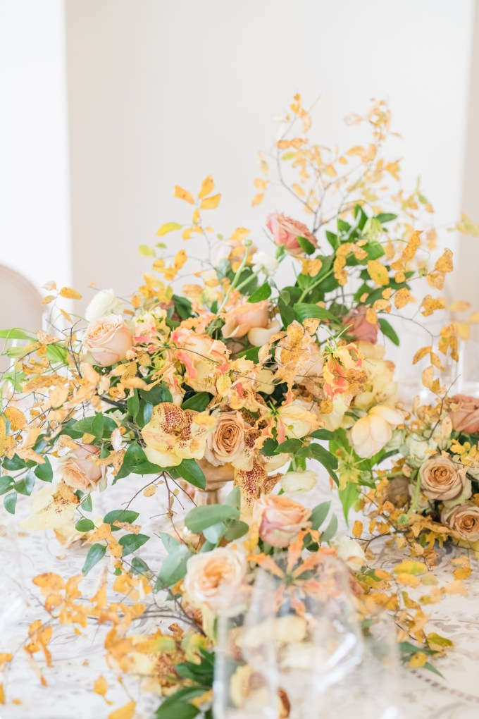 romantic elegant yellow wedding ideas | Eureka Photography | Glamour & Grace