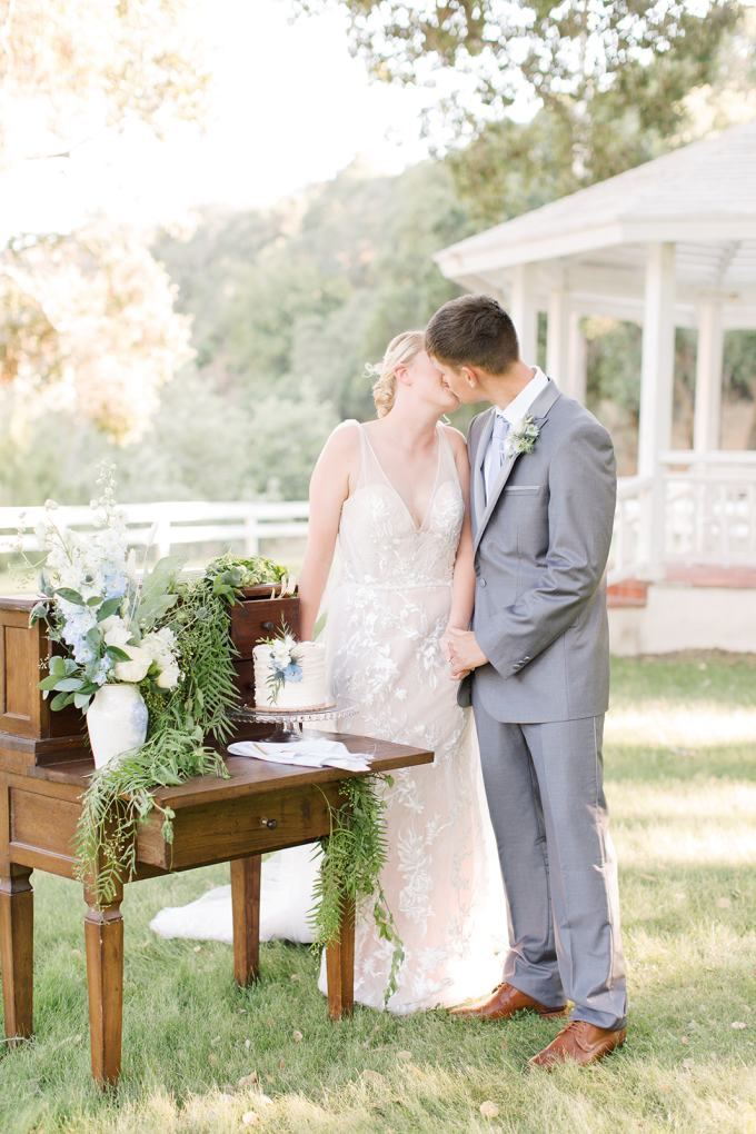 light blue spring wedding ideas | Araka Walker Photography | Glamour & Grace