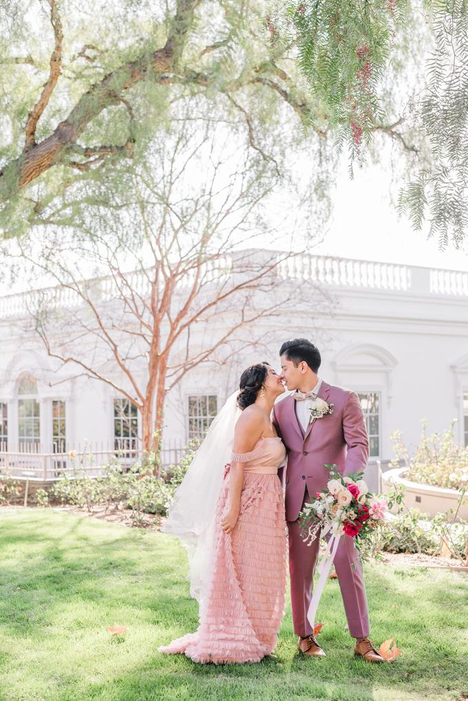 pink estate wedding ideas | Frozen Frame Photography | Glamour & Grace