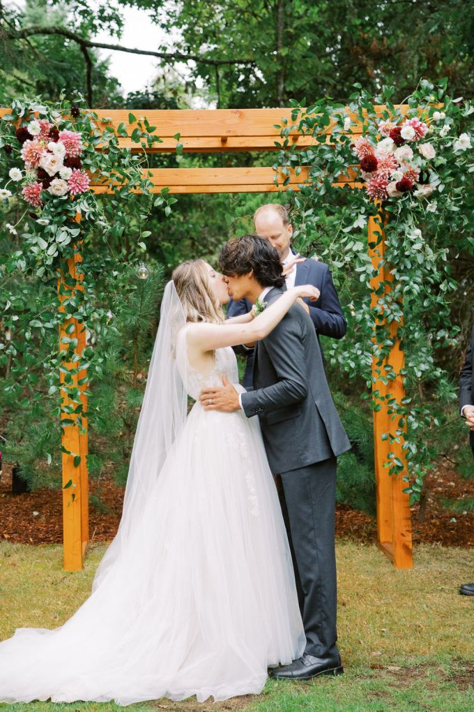 rainy Japanese garden wedding-Kallie Dawn Photography-Glamour & Grace