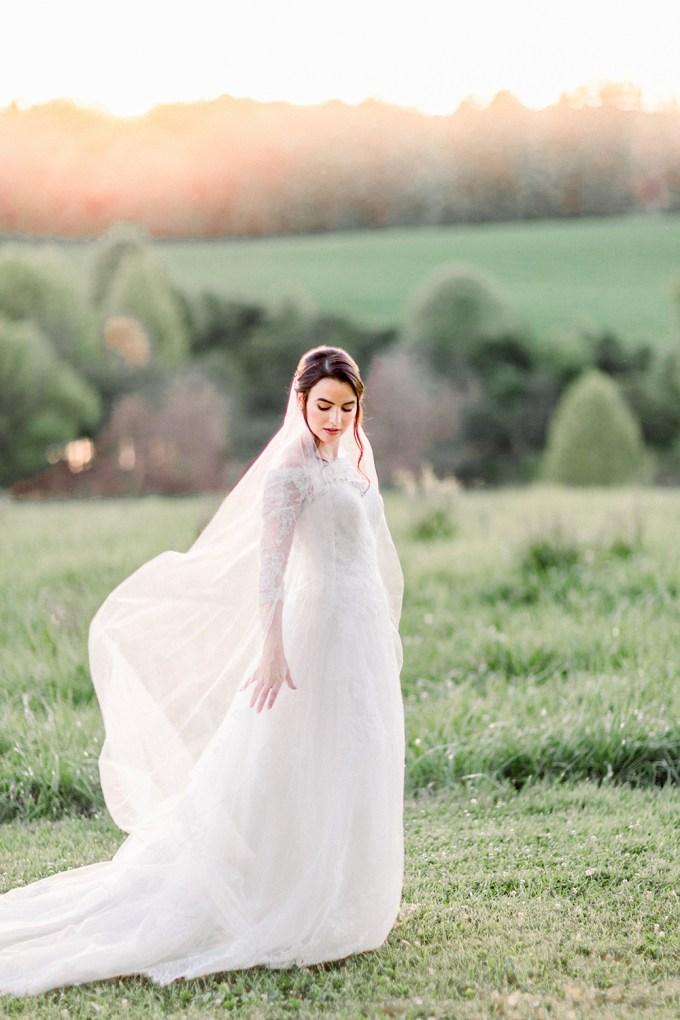 romantic Virginia bridal portraits-Lieb Photographic-Glamour & Grace