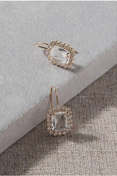 Pave Bridal Earrings