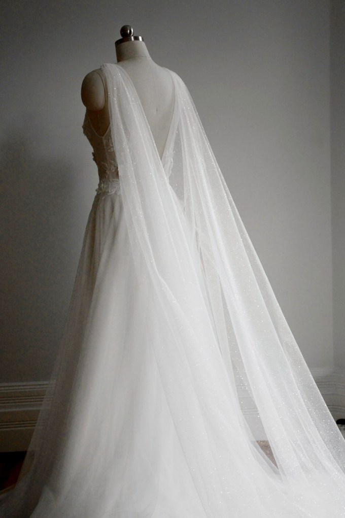 Sparkling Bridal Cape