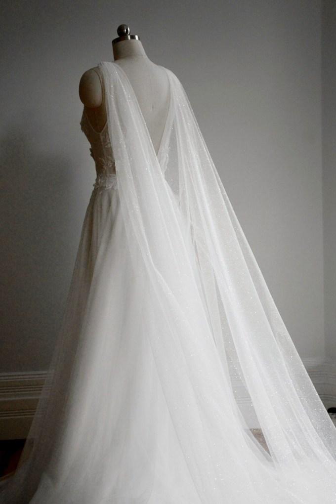 Sparkling Bridal Cape