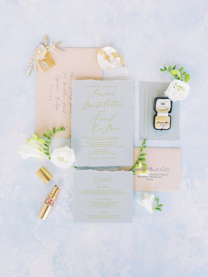 Soft & Romantic Wedding Invitation