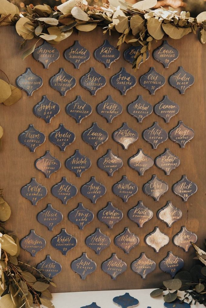 Wedding Escort Tiles