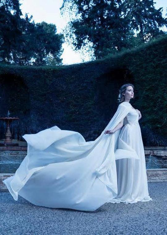 Wedding Cloak with Hood
