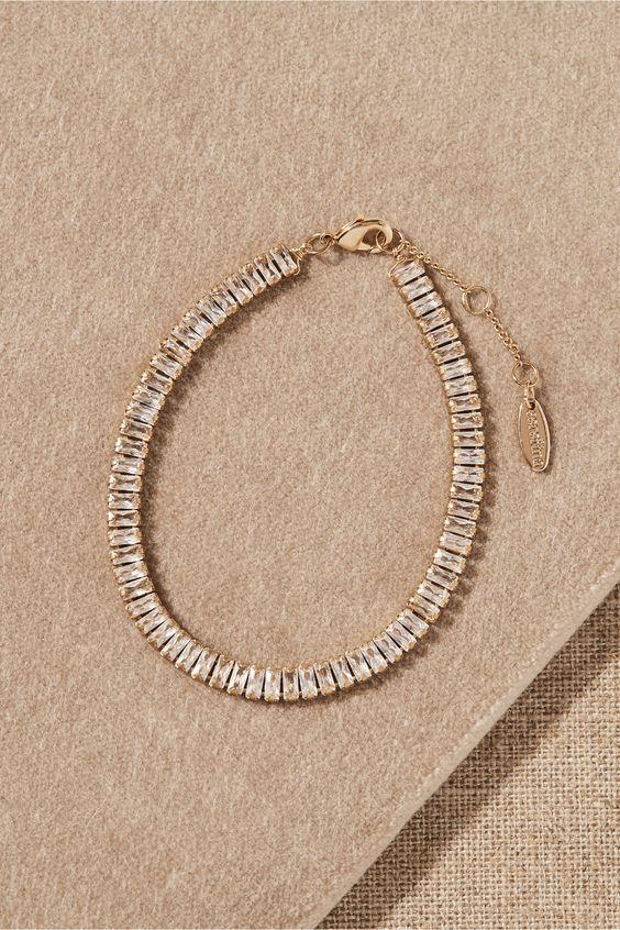 Crystal Tennis Bracelet