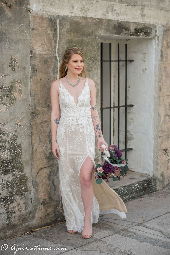 Lulus Rental wedding dress