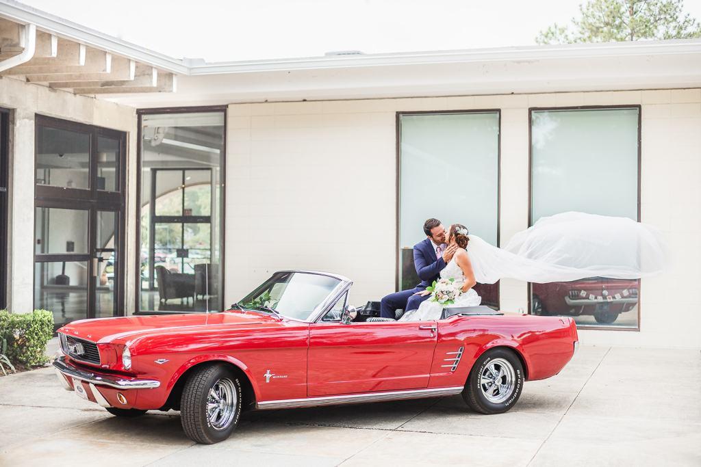Jax 66 mustang styled wedding shoot Jacksonville Florida