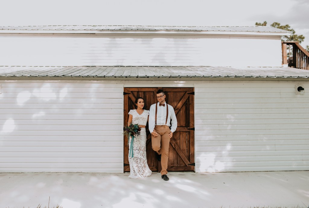 Styled Shoot boho Gown rental