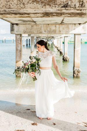 Tampa Bay Bridal Shoot Elopement