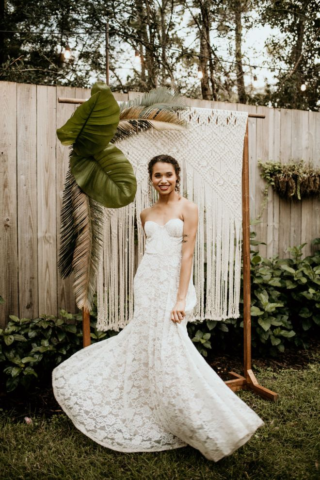 Styled Shoot rental dress