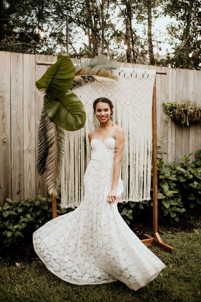 Styled Shoot rental dress
