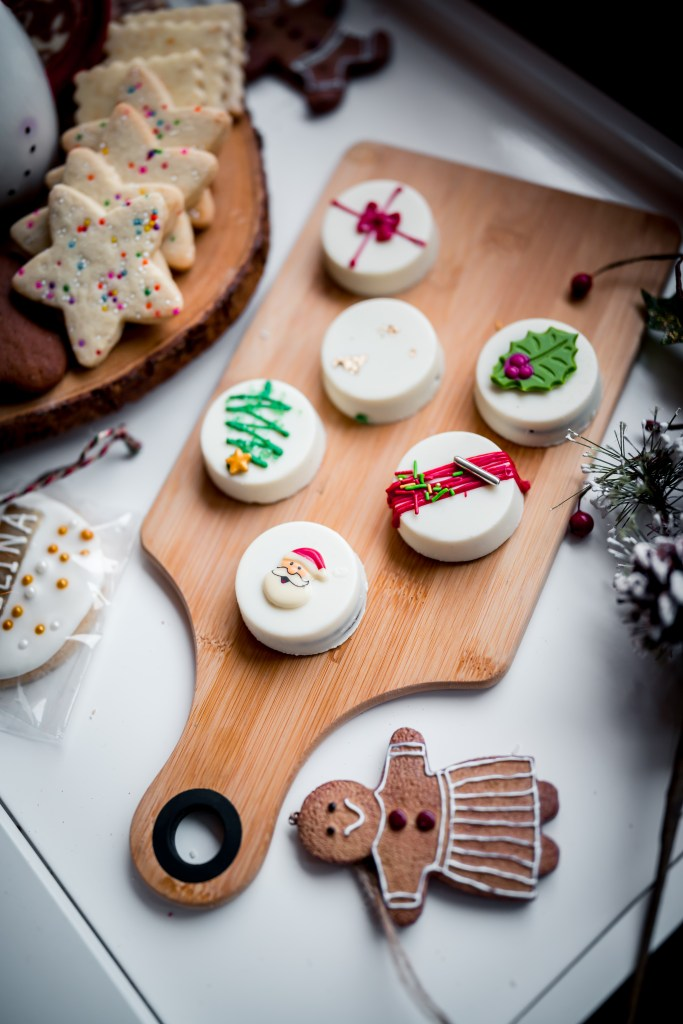 Christmas Holiday cookies from anjan delights