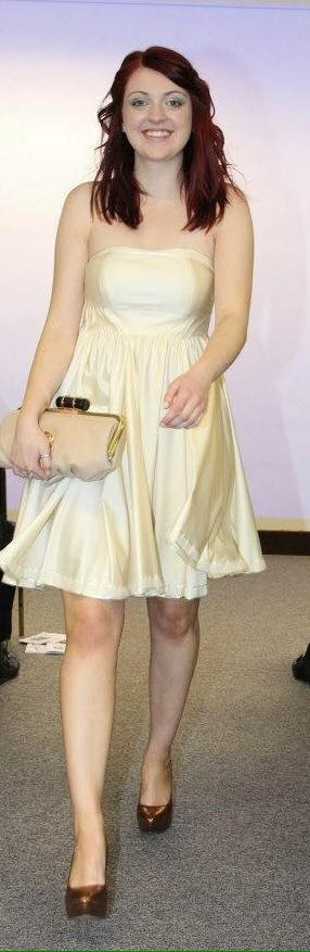 GI white dress