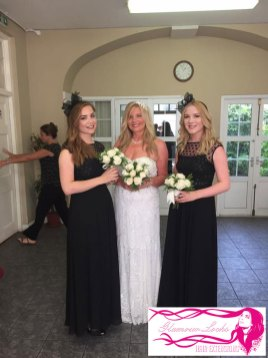 Bride and Bridesmaids Hair Extensions