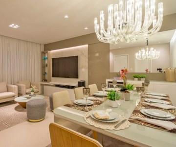 Sala de jantar: modernas e charmosas