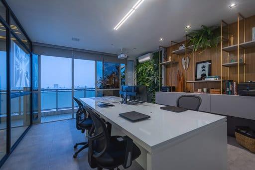 Decoração certa deixa escritório moderno e eficiente