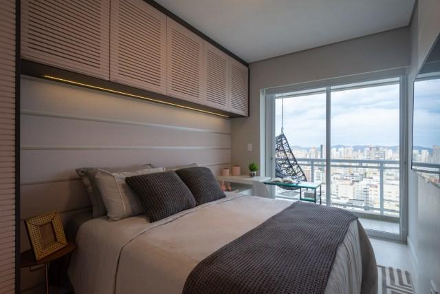 Móveis sob medida para o quarto do casal: opção perfeita para aproveitar o espaço