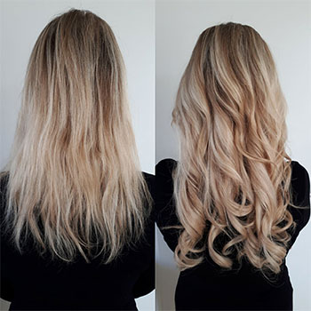 Clip In Hairextensions Amp Flip In Hairextensions Alles Op