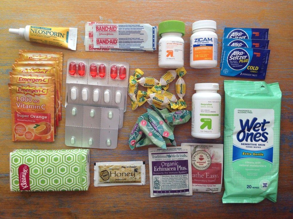 Medical packing list for globetrotters – Glampack and Go!