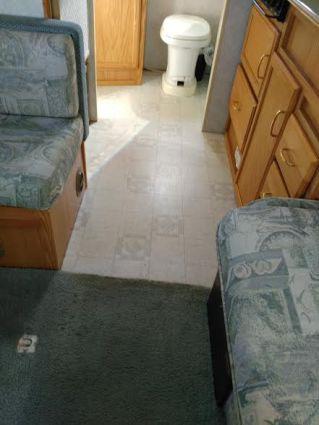 Carpet and linoleum BEFORE