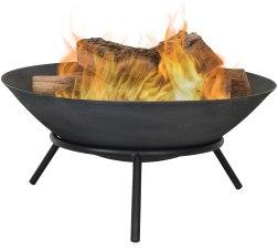 Sunnydaze Portable Outdoor Fire Pit Bowl