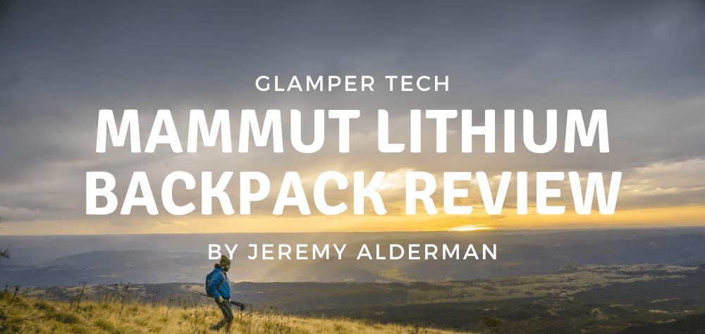 Mammut Lithium Backpack