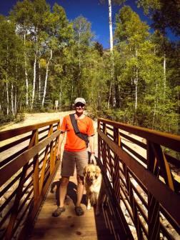 Hiking near. Sylvan Lake SP, Eagle CO.