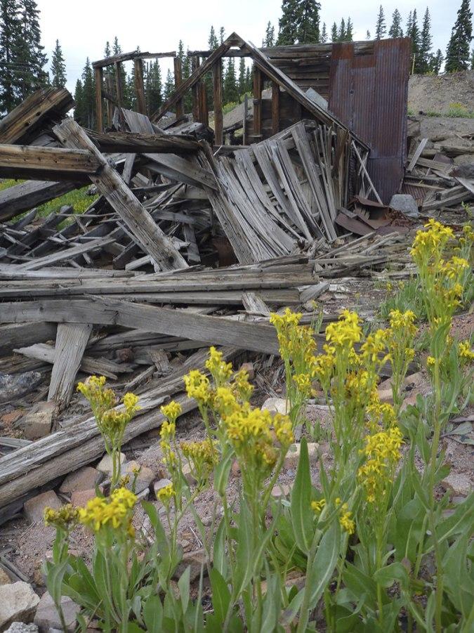 Old mining town Tomboy, Telluride, CO.
