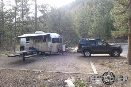 Campsite, Mountain Park Campground.